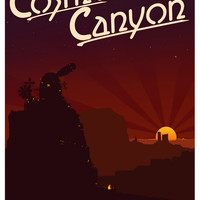 Final Fantasy VII - Cosmo Canyon Tribute Art Print by ReverendRyu