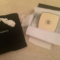 CHANEL Runway 2015 Powder Compact Clutch Bag Handbag VERY RARE PIECE