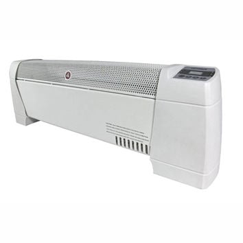 "30"" Baseboard Convection Heater with Digital Display and Thermostat"