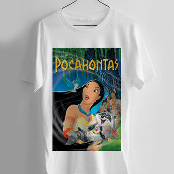 Pocahontas disney T-shirt Men, Women Youth and Toddler