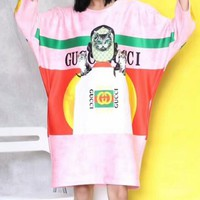 GUCCI 2018 Women's Fine Milan Fashion Show High Quality Dress F-AA-XDD