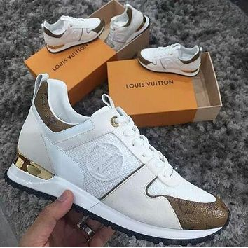 'Louis Vuitton''LV woman /Man Fashion casual shoes
