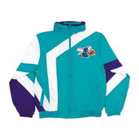 New Orleans Hornets Team Colors NBA 1 On 1 Windbreaker Jacket