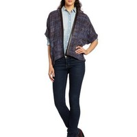 Democracy Women's Trim Detail Tweed Jacket