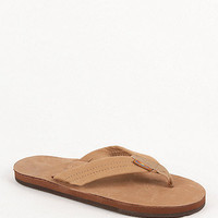 Rainbow Leather Wide Strap Sandals at PacSun.com