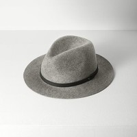 Rag & Bone - Abbott Fedora, Heather Grey