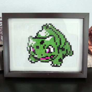 Pokemon Sprite Art: Bulbasaur