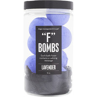 """F"" Bombs Jar Bath Fizzers 