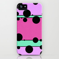 Strands - Lavender iPhone & iPod Case by Lisa Argyropoulos