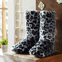 Fur Booties - Jaguar