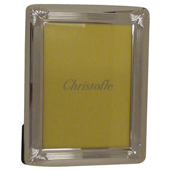 Christofle Silver-Plated Photo Frame