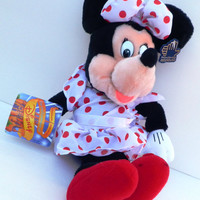 Applause Minnie Mouse Disney Plush Toy Doll