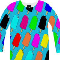 Popsicles Long-Sleeve Shirt created by trilogy-anonymous | Print All Over Me