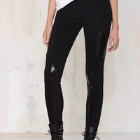 Nasty Gal Bobby Moto Leggings