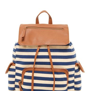 Steve Madden | Steve Madden Flap Pocket Drawstring Backpack | Nordstrom Rack