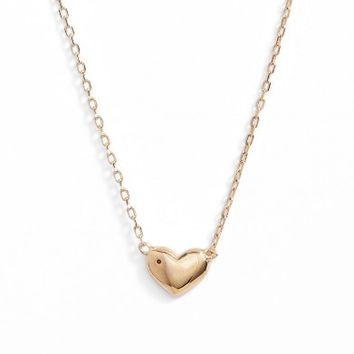 MARC JACOBS Heart Pendant Necklace | Nordstrom