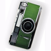 iPhone Case Retro Green Envy Camera Hard Phone Case / Fits Iphone 4, 4S