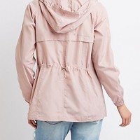 Anorak Hooded Jacket | Charlotte Russe