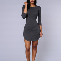 Tammy Tunic - Charcoal