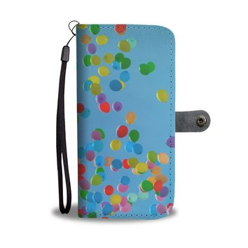 Balloons Phone Wallet Case
