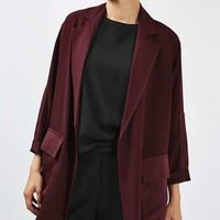 Contrast Panel Duster Coat - TAKE YOUR COAT OUT - We Love