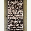 Thanksgiving Sale They Key to Life, John Lennon - Expressive Art on Canvas wall decor,home, kitchen,kids room, family room wall art