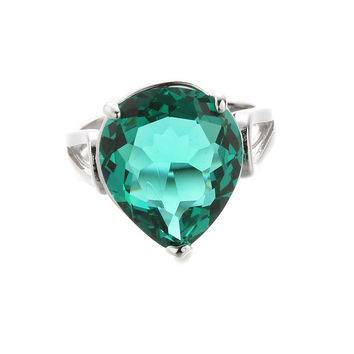Shiny Stylish Jewelry New Arrival Gift Hot Sale Vintage Water Droplets Gemstone Ring [6047311873]