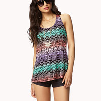 Tribal-Inspired Racerback Tank