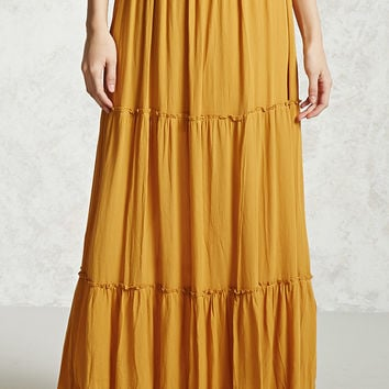 Tiered Maxi Skirt - Women - Bottoms - Skirts - 2000305342 - Forever 21 Canada English