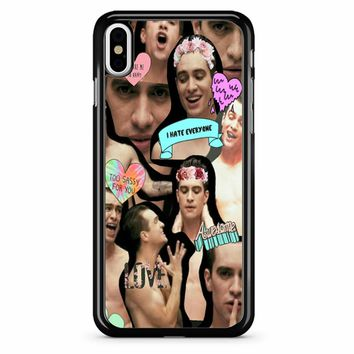 Brendon Urie Collage 2 iPhone X Case