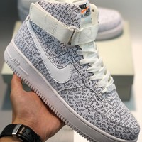 Nike Air Force 1'07 MTLC cheap Men's and women's nike shoes
