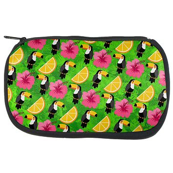 Tropical Vacation Tucan Pattern Travel Bag