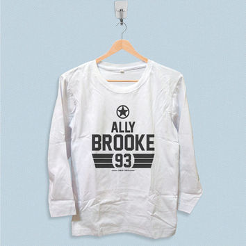 Long Sleeve T-shirt - Ally Brooke Fifth Harmony