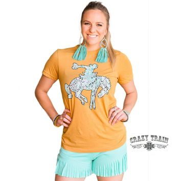 Rowdy Rattler Graphic Tee By Crazy Train