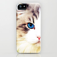 Eye of Cat - for iphone iPhone & iPod Case by Simone Morana Cyla