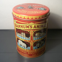 Collectible National Biscuit Company Tin, Collectible vintage,Home decor,Castawayacres