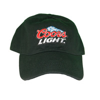 Vintage Culture Coors Light Patched Dad Hat In Black