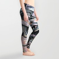 Have a little Swirl Leggings by duckyb