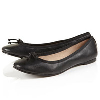 MOLTON Leather Ballet Pumps - Flats  - Shoes