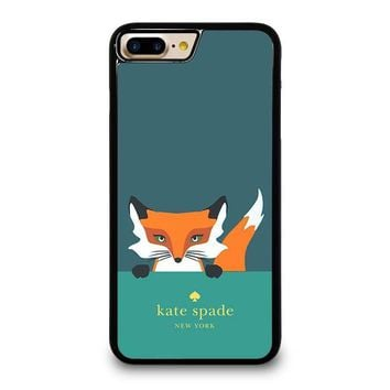 kate spade novelty fox iphone 4 4s 5 5s se 5c 6 6s 7 8 plus x case  number 1