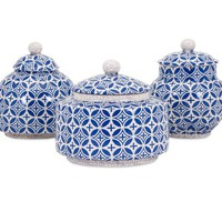 IMAX Corporation Accessories Jessica Lidded Boxes - Set of 3 11800-3