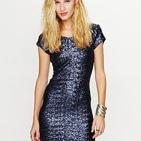 Free People Sequin Fever Bodycon Dress