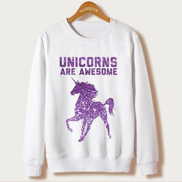 Unicorns Are Awesome Sweater