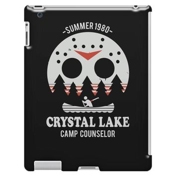 crystal lake camp counselor iPad 3 and 4 Case