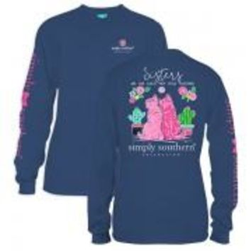 *Closeout* Simply Southern Long Sleeve Tees - SISTERS