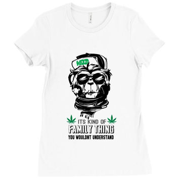 It Is Kind Of Family Thing You Would Not Understand Ladies Fitted T-Shirt