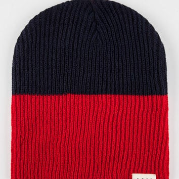 Neff Duo Beanie Red Combo One Size For Men 26587534901