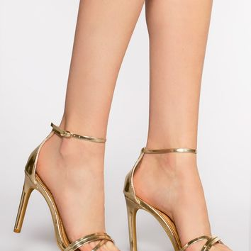 Timeless Heels - Metallic Gold