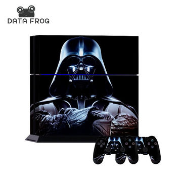 Cool High Quality for Star Wars Darth Vader Protective Skin Decal Sticker For Sony PS4 Playstation 4 Console 2 Controller