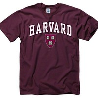 Harvard Crimson Youth Maroon Perennial II T-Shirt